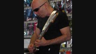 "Joe Satriani ""If I could Fly"" -- Rare live in the studio (3 of 4)"