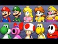 Mario Party 9 - All Characters