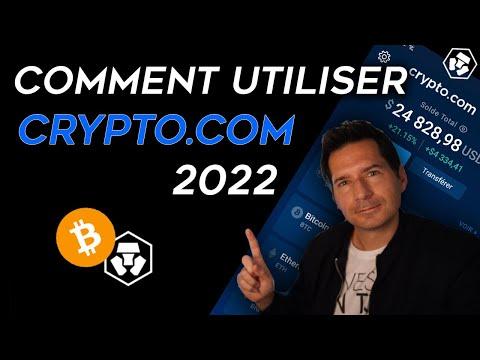 Crypto.com   TUTO Complet de l'application crypto.com pas à pas 2021 - Guide débutant - Tutoriel