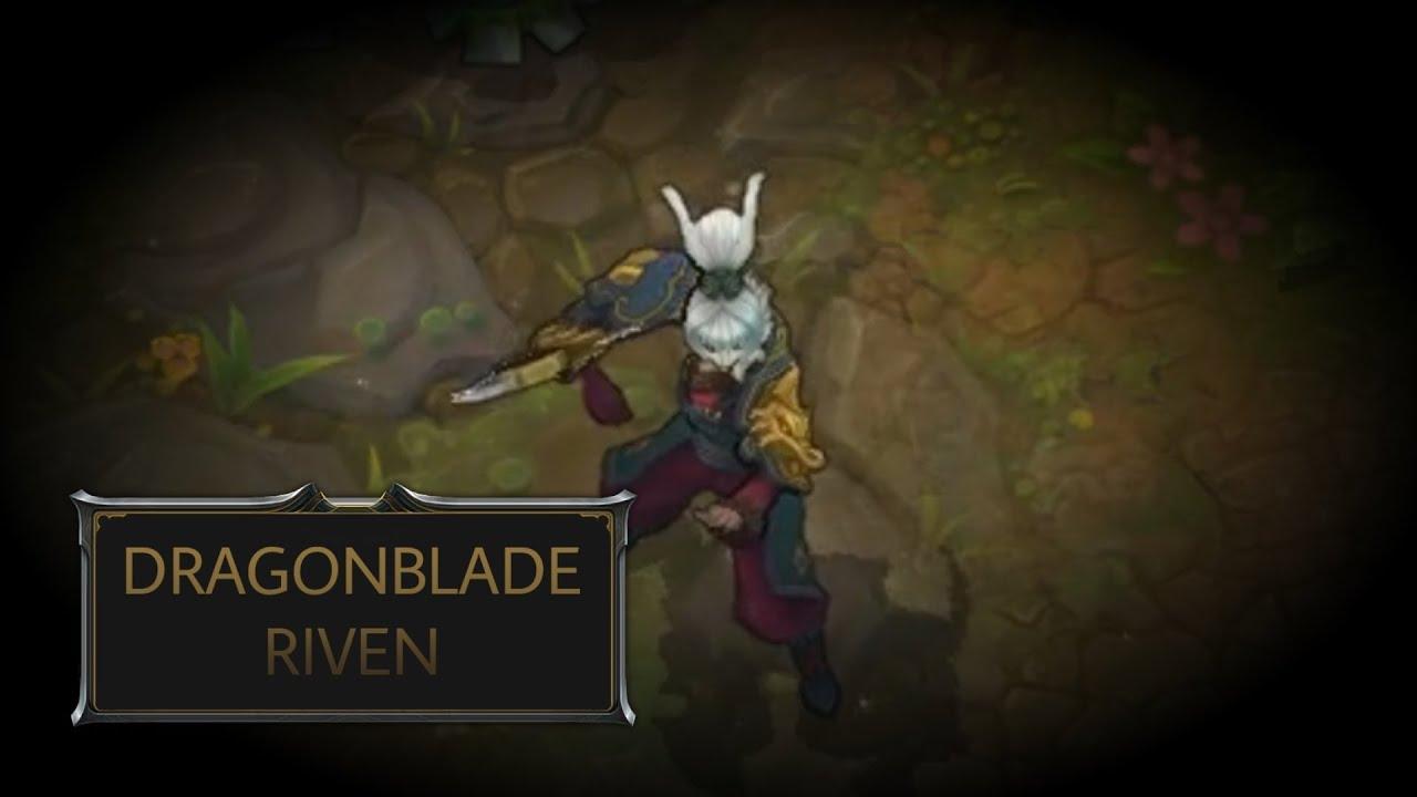 Dragon Blade Riven Skin Spotlight