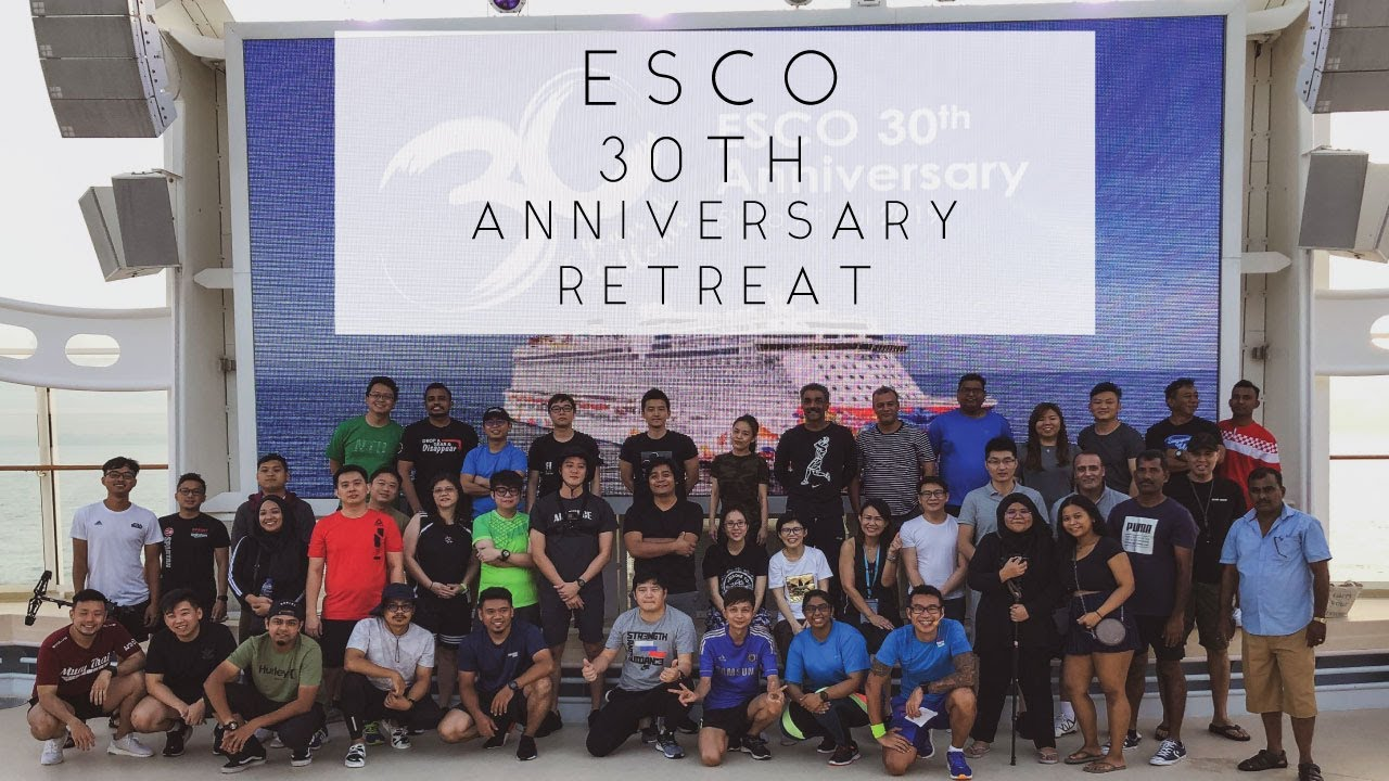 ESCO 30th Anniversary Retreat