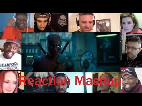 DEADPOOL 2 Teaser Trailer No Good Deed REACTION MASHUP