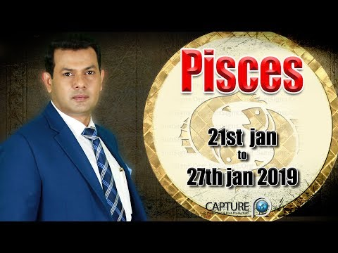 Pisces Weekly Horoscope from Monday 21st to Sunday 27th January 2019