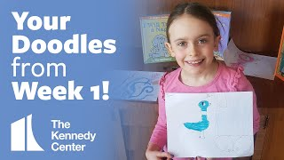 Your Doodles from Week 1!   |   LUNCH DOODLES with Mo Willems!