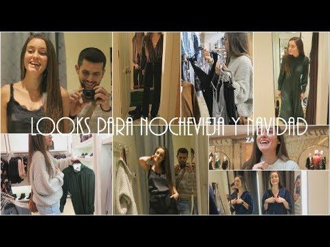 Nos vamos de Shopping en busca de LOOKS PARA NOCHEBUENA Y NOCHEVIEJA! | Sandra ♡