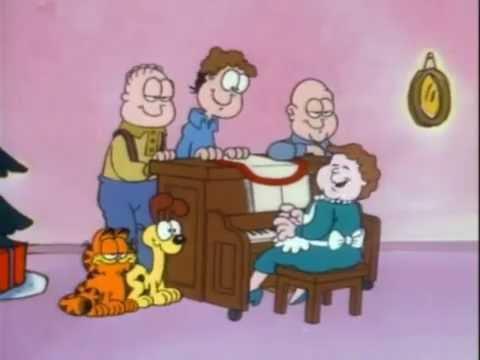 A Garfield Christmas Special 1987 (La navidad de Garfield) - YouTube