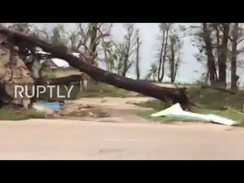 USA: Super typhoon Yutu devastates Northern Mariana Islands