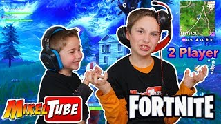 Fortnite 2 player con Leo