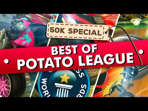 BEST OF POTATO LEAGUE | TRY NOT TO LAUGH Rocket League Funny Moments