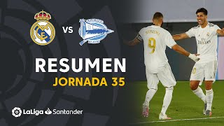 Resumen de Real Madrid vs Deportivo Alavés (2-0)