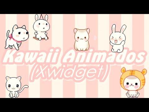 ❥Kawaii Skins Animados (XWidget) ¡Cute!