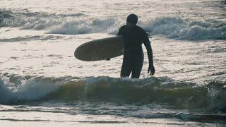Зимний серфинг в Петербурге