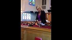 Carol Craig at Avondale United Methodist church - Jacksonville, Florida.  Aug 17,2014