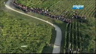 Petter Solberg SS9 Crash WRC 2012 Rally France
