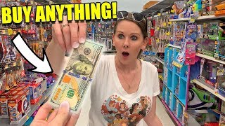 I GAVE HER $100 TO BUY ANYTHING POKEMON AT THE STORE! (Huge Card Pack Opening)
