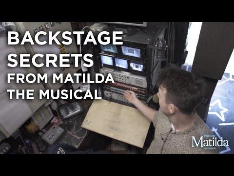 Backstage Secrets #4 -Mission Control | Matilda The Musical