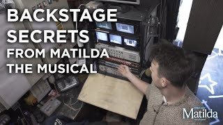 Backstage Secrets #4 -Mission Control | Matilda The Musical