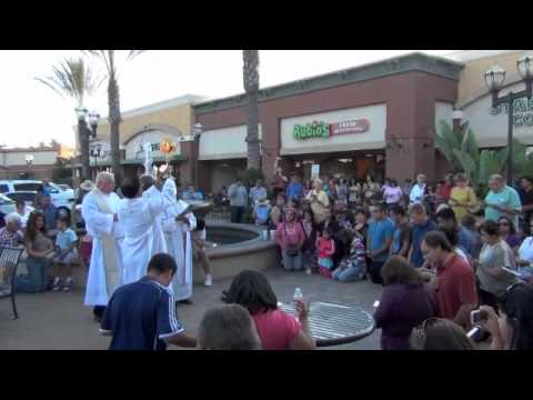 Catholic Eucharistic Adoration Flash Mob