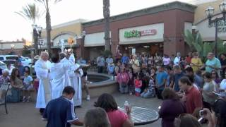 Catholic Eucharistic Adoration Flash Mob