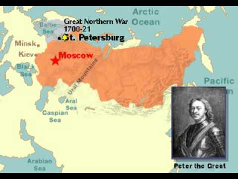 History of Russia 1533   Present Map