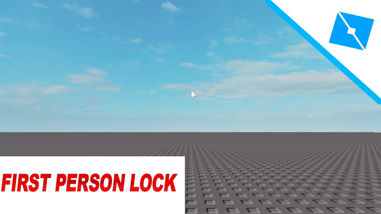 How To Create A First Person Lock Script Roblox Studio Youtube
