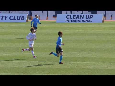 20180311 Yokohama fc vs Ehime fc Kensuke Sato video