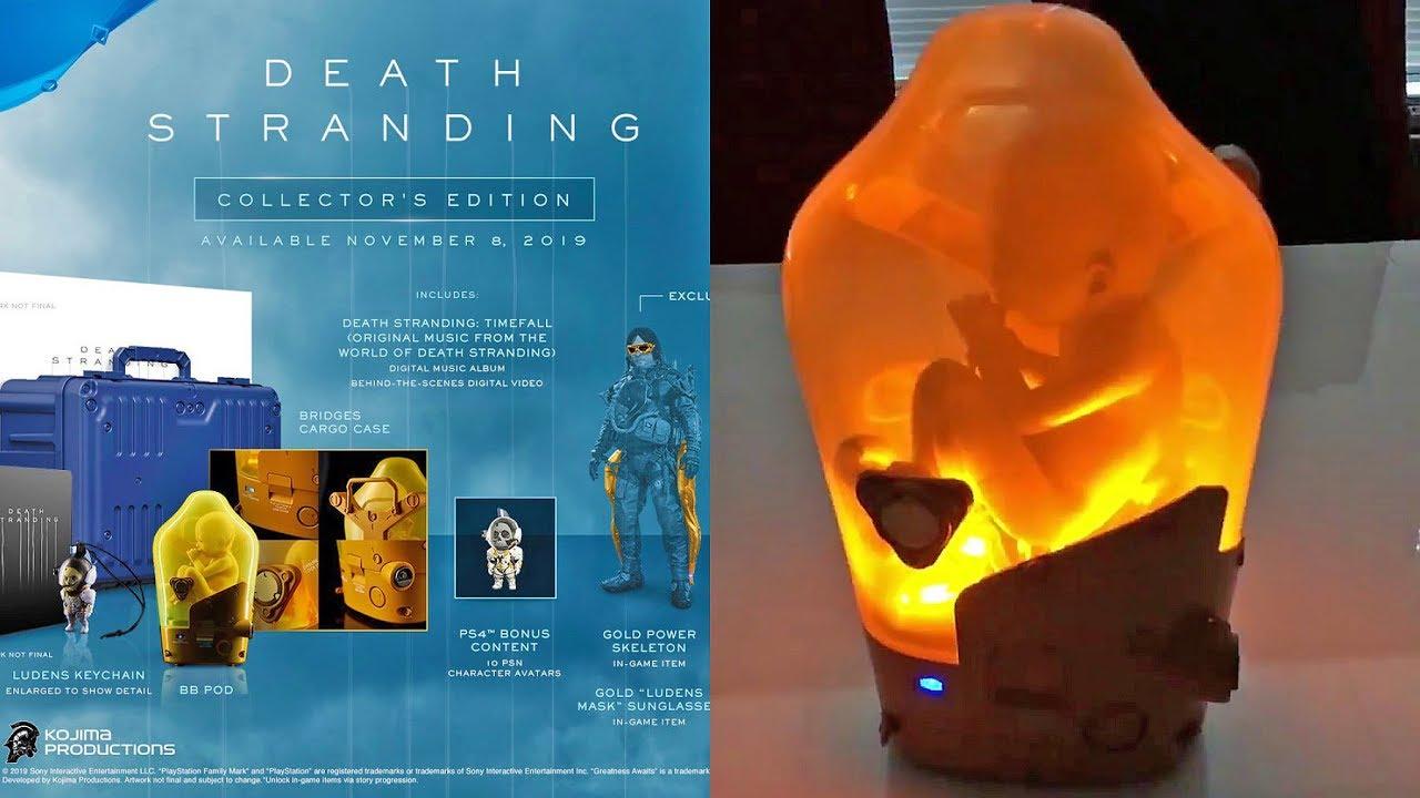 Death Stranding Collector's Edition - BB Pod