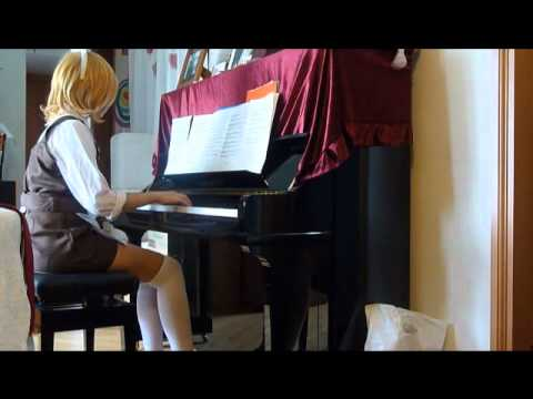 Vocaloid 人柱愛麗絲 Alice Human Sacrifice piano!