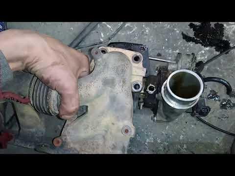 Mazda cx-7  как снять турбину