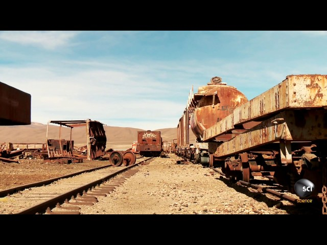 Who Abandoned All of These Trains in the Atacama Desert?