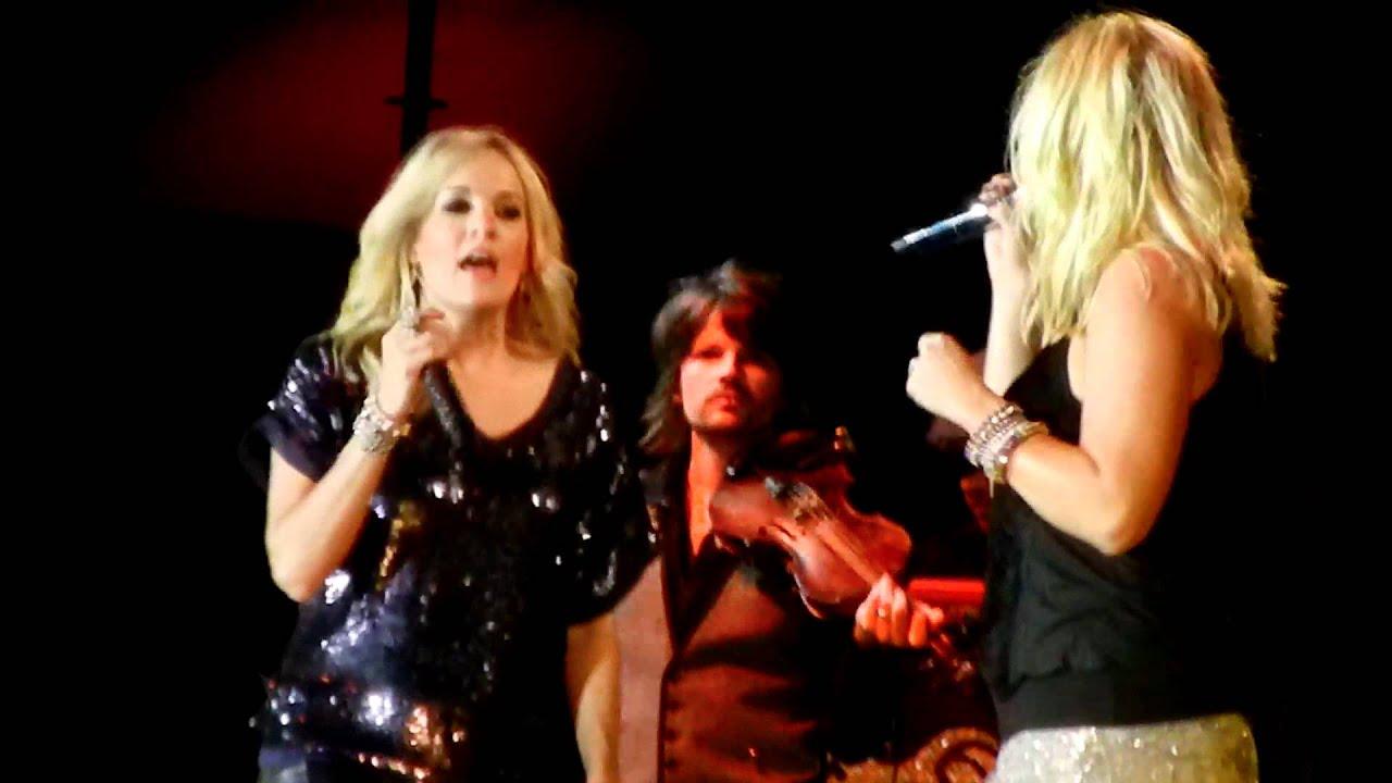 Miranda Lambert and Carrie Underwood Find Trouble in