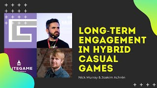 Long-Term Engagement in Hyḃrid Casual Games