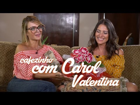 Cafezinho com Valentina - Bake Off Brasil SBT - Carol Fiorentino