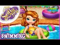 Sofia the First Swimming Pool Disney Princess Game for Children