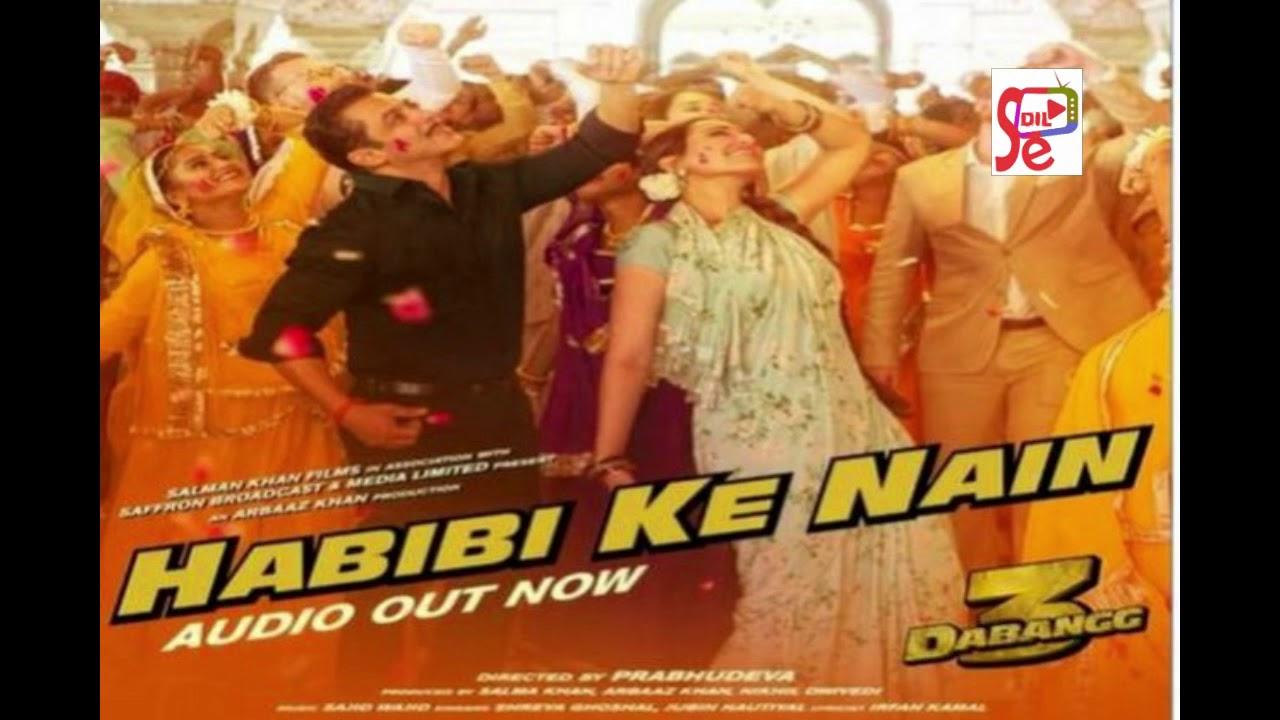 Habibi Ke Nain Audio(Full Audio Song) | Dabangg 3 | Shreya Ghoshal, Jubin Nautiyal