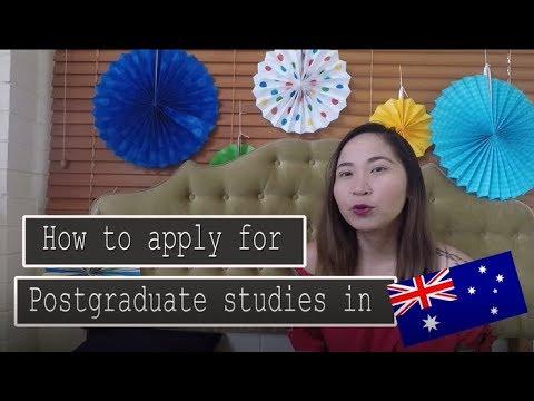 How to Apply for Postgraduate Studies in Australia