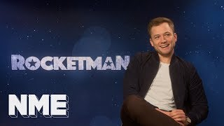 Rocketman's Taron Egerton on Elton, Eddie The Eagle and Bond thumbnail
