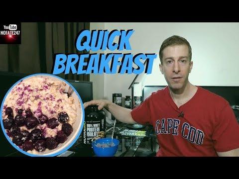 Blueberry Muffin Oatmeal | Dad's Breakfast