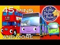 Bus Song Different Types Of Buses Plus More Nursery Rhymes 45 Minutes From LittleBabyBum mp3