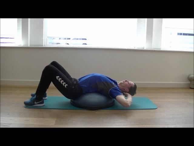 BOSU Rug Stretch