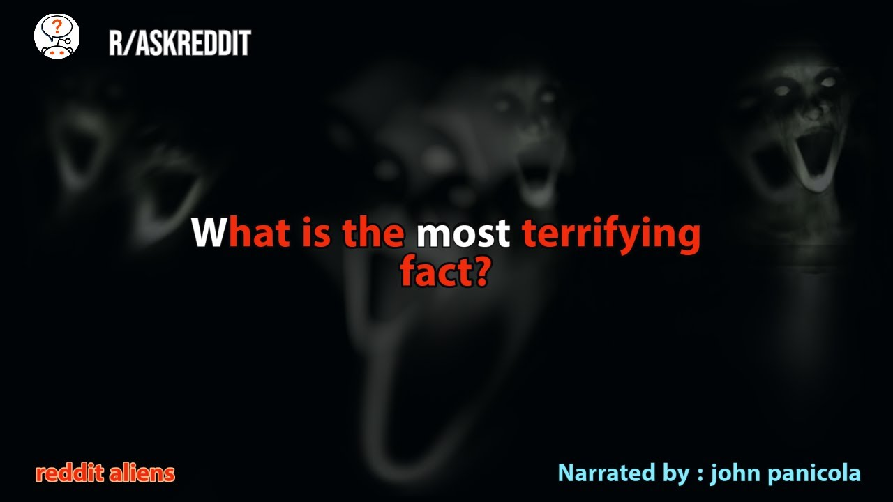 What is the most terrifying fact?