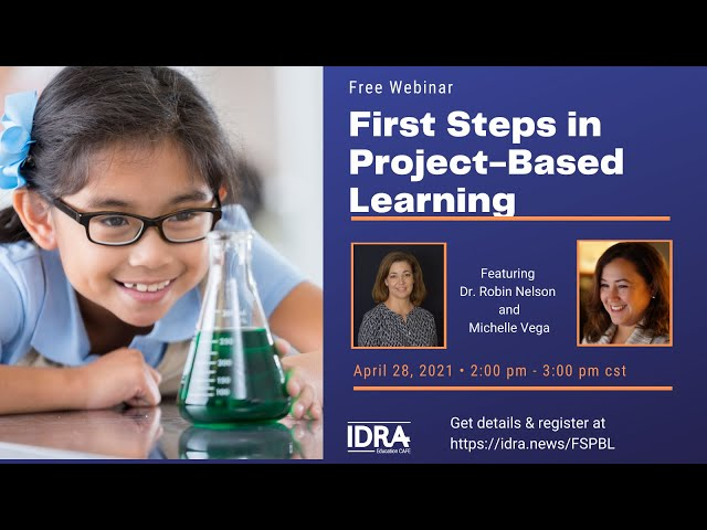 First Steps in Project-Based Learning – Webinar