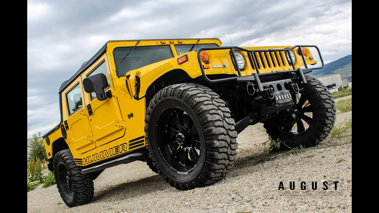 The lowest mileage Hummer H1 in all of North America