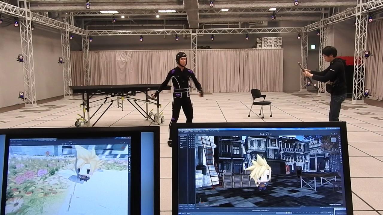 Real-time mocap at Square Enix