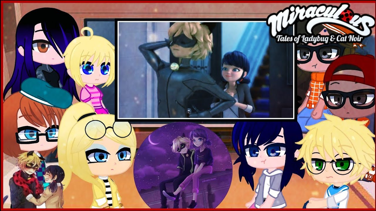 Download MLB Characters reacts to Marichat Moments ll  {Marichat}
