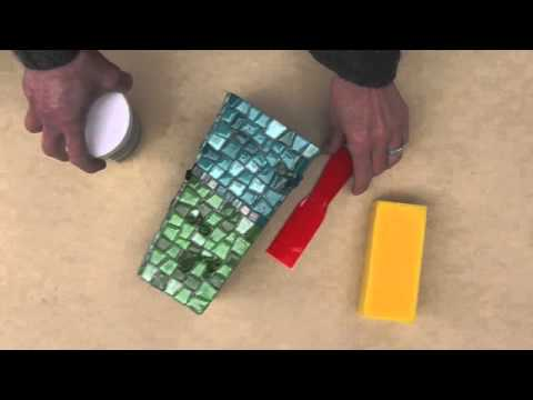 How to create a Mosaic Vase using Mosaic Mercantile products