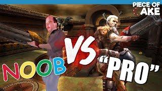 NOOB VS. PRO - QUAKE III ARENA CHALLENGE!