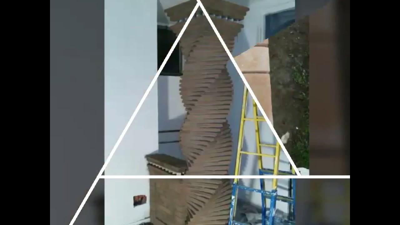 Pilastri a mattoni e pietre per interno ed esterno youtube - Pietre per interno casa ...