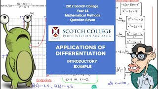 Applications of Differentiation - Simple Example Question Example