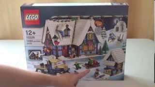 Lego Creator Winter Village Cottage Set 10229 Unboxing
